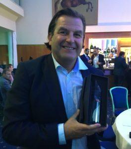 Ian Richardson Lanchester Wines Costcutter award